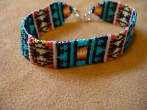 how to make indian beaded bracelets loom square stitch beaded american inspired