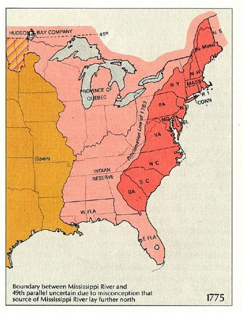 america in 1763 map dashed hopes for the frontier carolina digital history