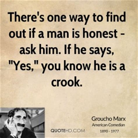 Ways To Find Out With Whom Hes On You by Groucho Marx Quotes Quotehd