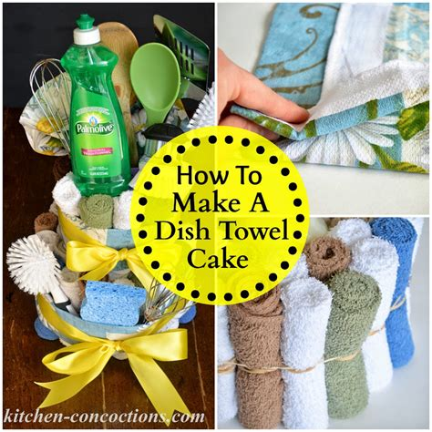 kitchen concoctions creative soap ideas dish towel cake