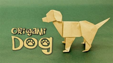 How To Make A Puppy Out Of Paper - origami tutorial labrador steven casey