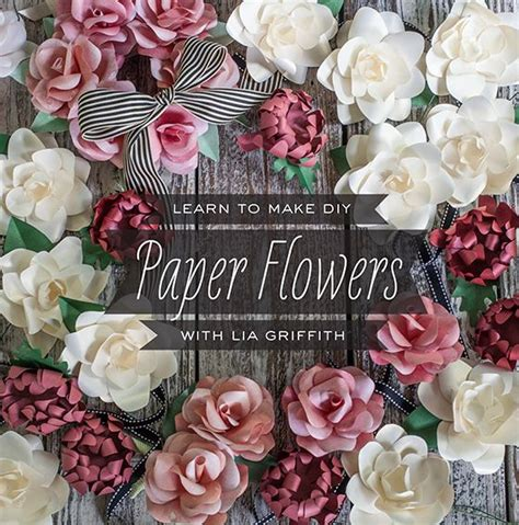 Learn To Make Paper Flowers - learn to make paper flowers with lia griffith at portland