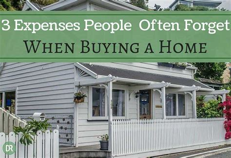 people buying a house 3 expenses people often forget when they buy a house debt roundup