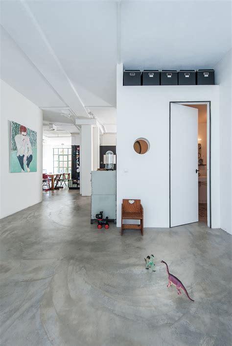 concrete floor apartment gallery of loft transformation studio appelo 1