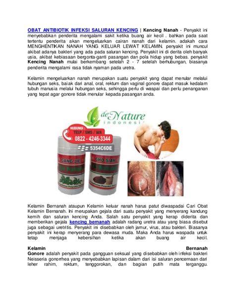 obat antibiotik infeksi saluran kencing kencing nanah