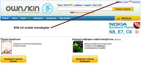 cara membuat website gratis di hp cara membuat tema hp gratis di ownskin