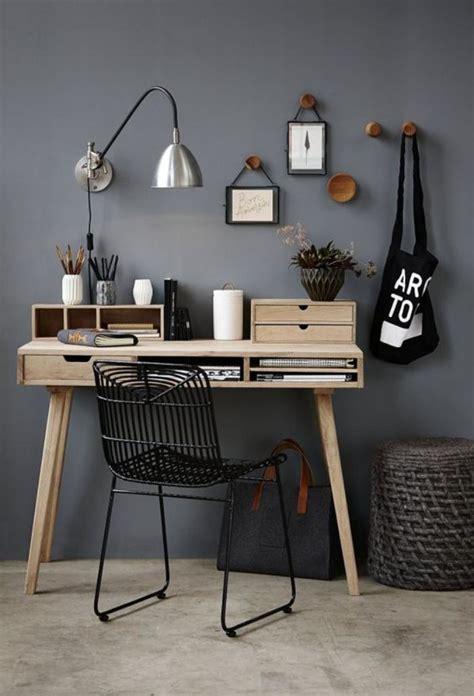 Am 233 Nagement D Un Petit Espace De Travail Le Bureau Style Bureau Style Scandinave