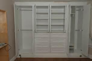 built cabinets bedroom closets plans
