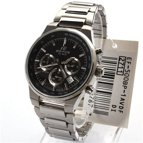 Casio Edifice Ef 500bp reloj pulso casio ef 500bp edifice elegante acero