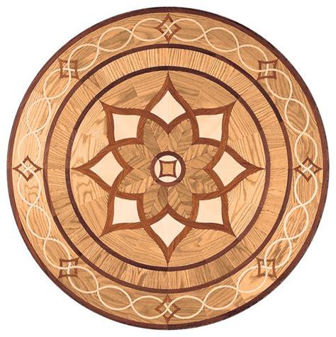 oshkosh designs arizona inlay medallion contemporary hardwood flooring milwaukee by