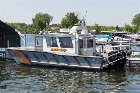 lake assault boats lake assault boats delivers patrol boat to minnesota