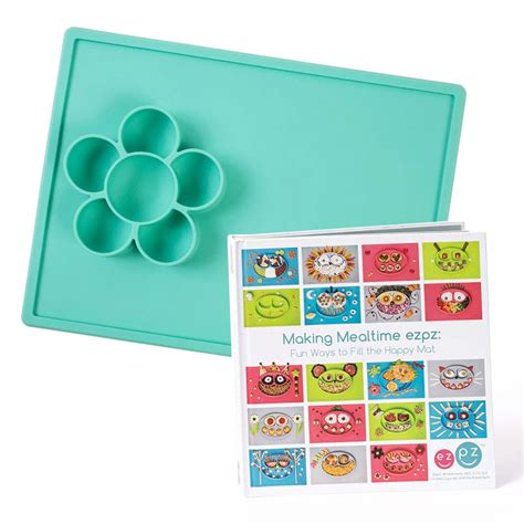 Silicone Plate Placemat Pinguin ezpz the original all in one silicone plates placemats