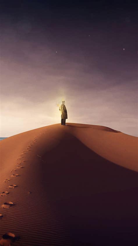 le desert la nuit cartoon  de fond la nuit desert
