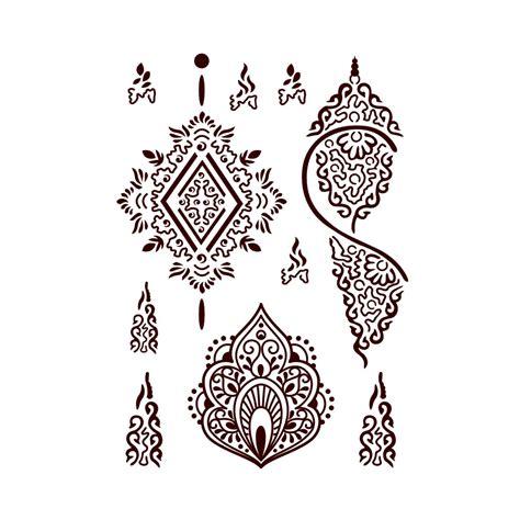 tattoos f 252 r die haut im henna design farbe b