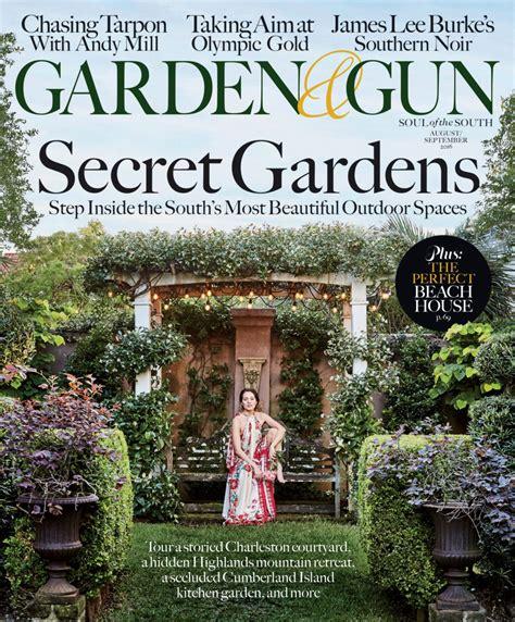 August/September 2016 – Garden & Gun Garden And Gun Cover