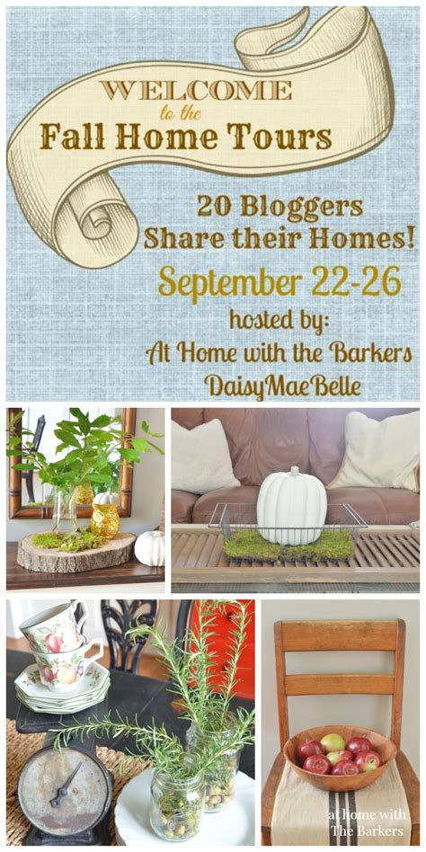 welcome home decor welcome fall home tour at home with the barkers