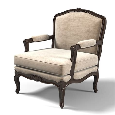 Armchair Classic by 3d Bizotto Classic Armchair Model