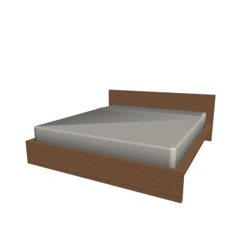 new malm bed frame by ikea of sweden contemporary malm bed frame 180x200cm design and decorate your room in 3d
