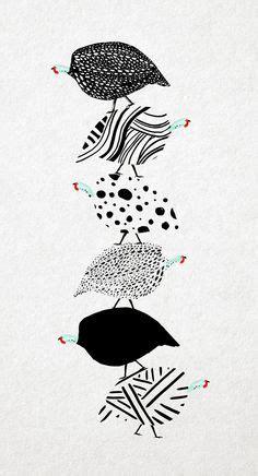 beautiful guinea fowl design art and design pinterest
