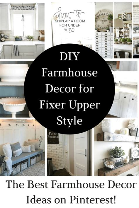 most popular and chic diy home decor ideas 5 diy home farmhouse decor for the fixer upper look princess pinky girl