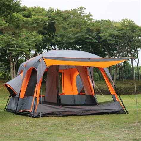 two bedroom tent luxury ultralarge one hall two bedrooms tent 6 8 10 12 person outdoor all season cing tent