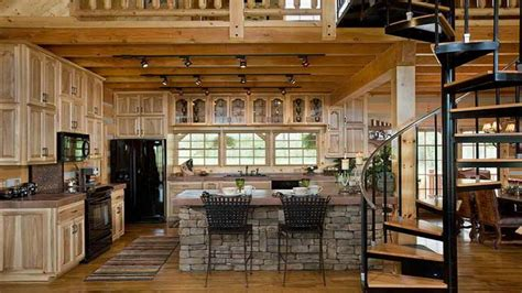 log home kitchen design small log cabin kitchen ideas log cabin kitchen design