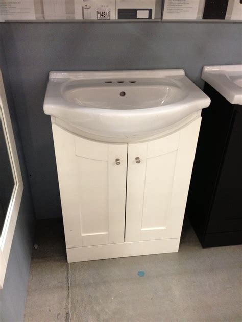 for smaller bathroom more storage than simply a pedestal