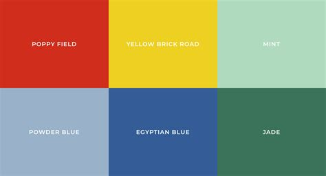 color palette definition most popular colors defining each decade the 20st into