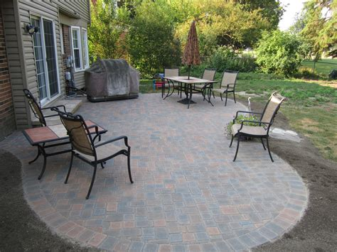 Patio Designs Using Pavers Concrete Paver Patio Ideas Home Design Ideas And Pictures
