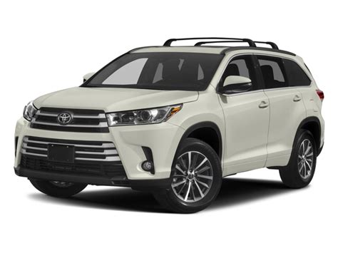 new 2017 toyota highlander prices nadaguides