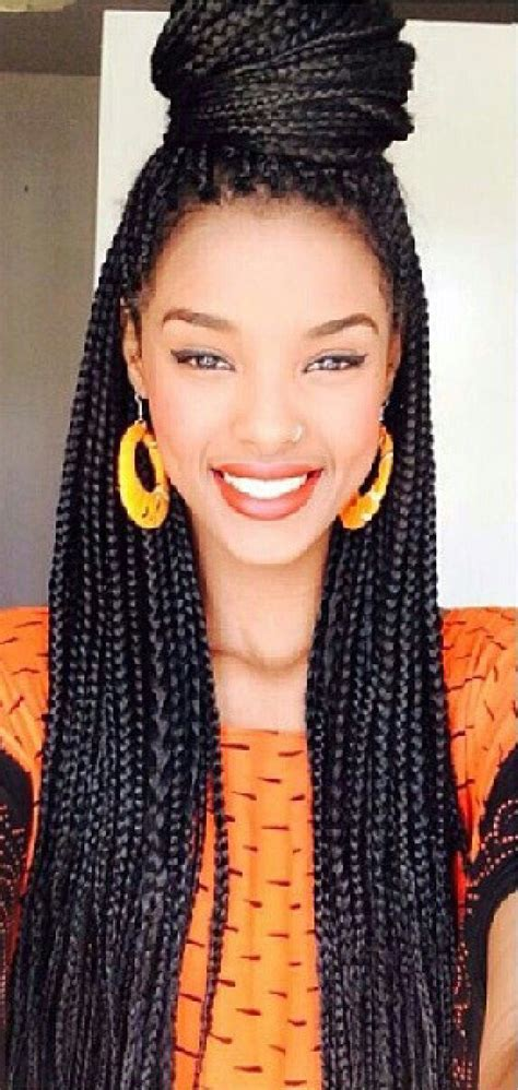 box braids with human hair pretty box braids http www blackhairinformation com