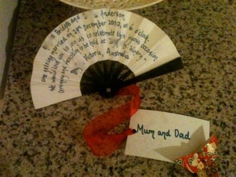 folding fan wedding invitations folding fan invitations weddingbee photo gallery