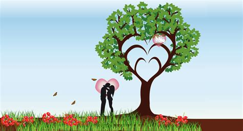 images of love tree clipart tree of love