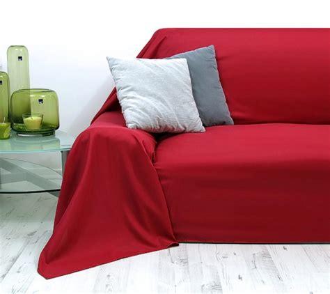 sofaüberwurf 3 sitzer ecksofa 252 berwurf rot bestseller shop f 252 r m 246 bel und