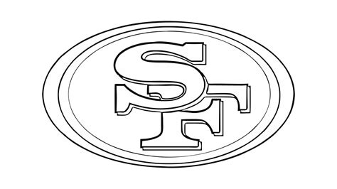 Drawing 49ers Logo by How To Draw The San Francisco 49ers Logo Nfl