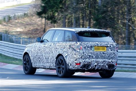 land rover sport 2018 2018 range rover sport svr shows production lights