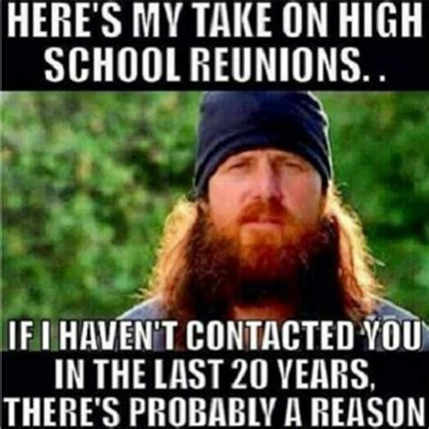 High School Reunion Meme - funny quotes about reunions quotesgram