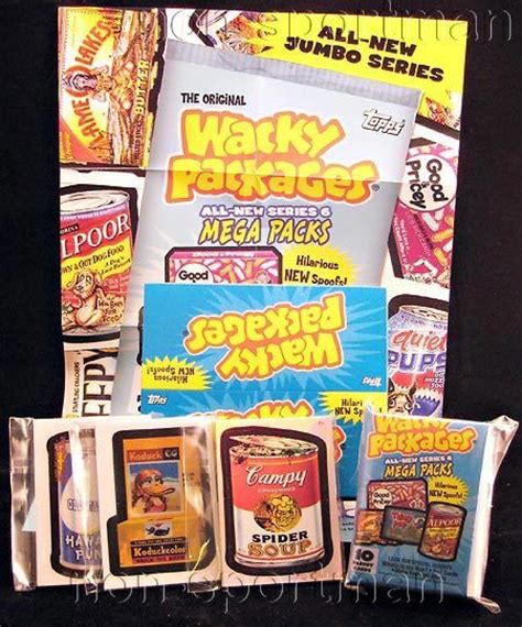 master the asvab series 1 wacky packages all new series 6 master set ebay