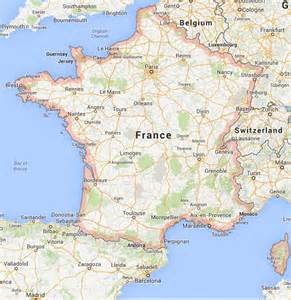 France World Map by Map Of France World Easy Guides