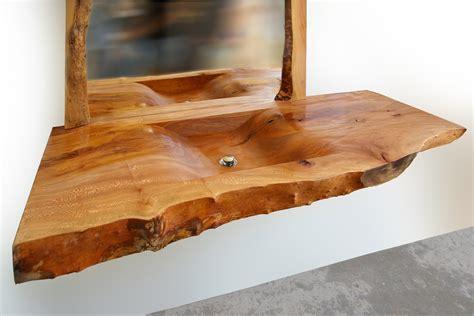 Waschbecken Auf Holz waschbecken aus holz bergahorn 3 desart