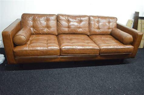 darrin leather sofa darrin leather sofa nov major retailer shelf pulls