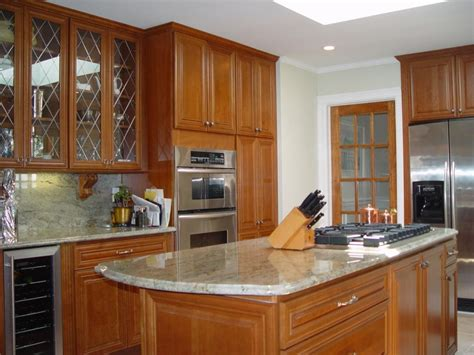 Kitchen Design Nj Kitchen Remodel In Monmouth County With Cherry Cabinets