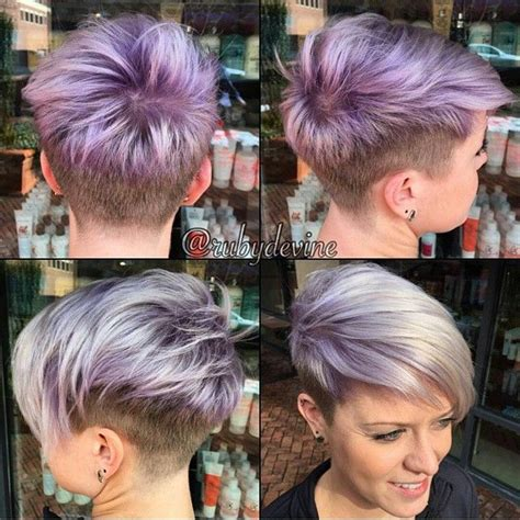 1000 images about fryzury on pinterest pixie haircuts women hairstyles medium brown shaved pixie undercut