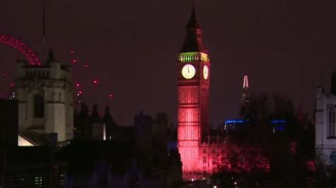 Cnn On Lit by Big Ben Lit Up Honoring Attack Victims Cnn