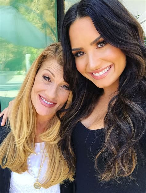 demi lovato and her family demi lovato s mother felt powerless to curtail daughter