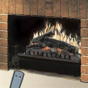 dimplex 23 quot standard electric fireplace log set trim kit