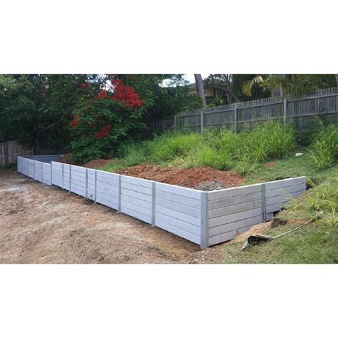 ridgi 150mm x 50mm 1 5m smooth reinforced concrete sleeper