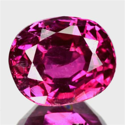Pink Mozambique Ruby Oval 1 32 cts reddish pink ruby mozambique oval clarity