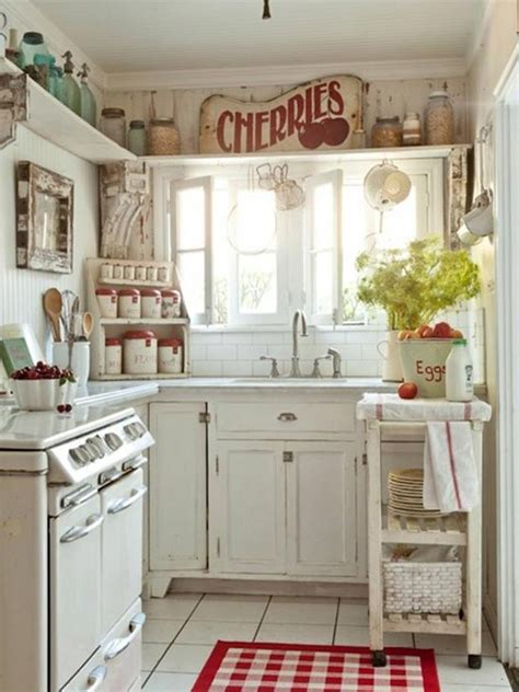 ideas for country kitchens shabby chic country kitchen ideas