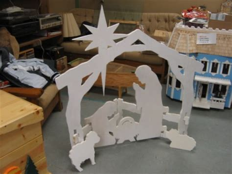 plywood nativity scene easy diy woodworking projects